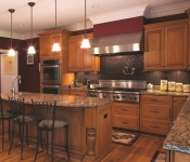 Collier Township Custom Home Kitchen