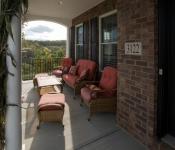 Custom Home Builder Porch