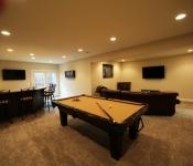 Custom Home Plan Basement Options