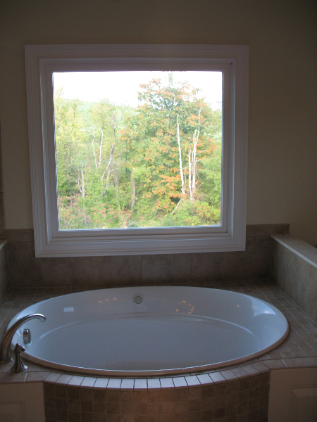 Andrea and Mike's Custom Home Master Bath