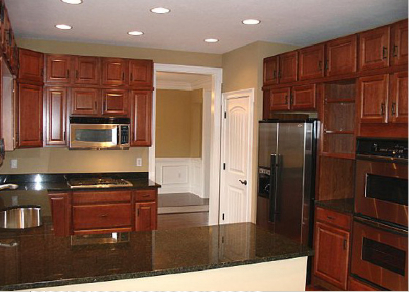 Andrea and Mike's Custom Home Kitchen