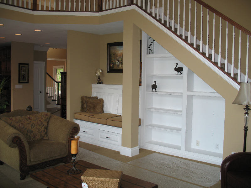 Andrea and Mike's Custom Home Built in Nooks