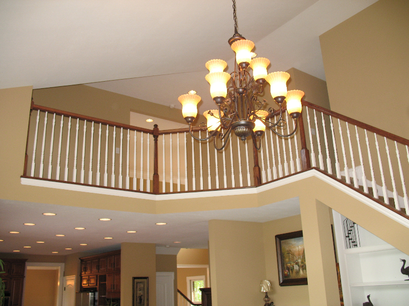 Andrea and Mike's Custom Home Chandelier