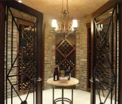 Custom Home with Wine Cellar