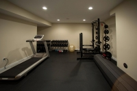 Deerfield Ridge Custom Home Gym