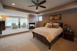 Deerfield Ridge master bedroom