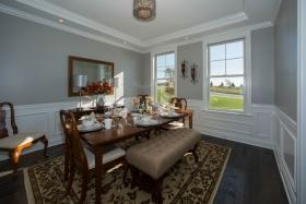 Deerfield ridge model- diningroom