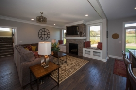 Deerfield ridge model- familyroom