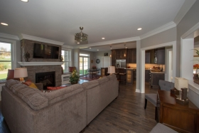 Deerfield ridge model- interior view