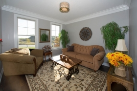 Deerfield ridge model- livingroom