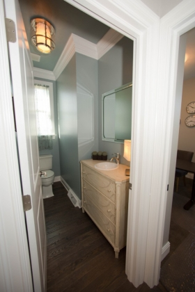 Deerfield ridge model-powderroom