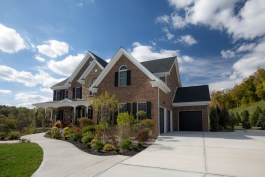 Deerfield Ridge Custom Home Exterior