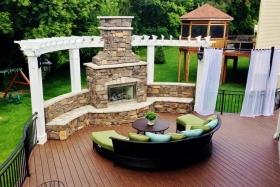 Fairacres Model Outdoor fireplace