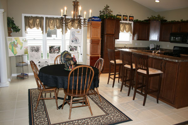 Custom Built Homes Kitchen And Dining Room Photo Gallery