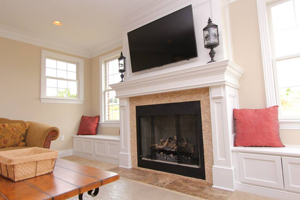 Pittsburgh Custom Homes: Living and Great Rooms Photo Gallery