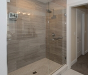Custom Built Home Shower