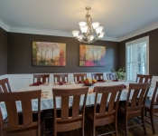 Custom Home Plan Dining Room