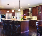 Custom Built Home Plan Kitchen