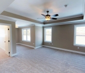 Custom Home Plan Master Bedroom