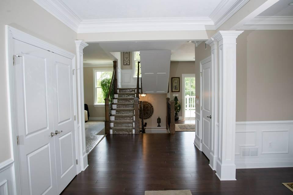 Stairs and windows gallery pittsburgh custom home for Custom house windows