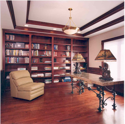 Studies and dens gallery pittsburgh custom home builder for Home styles com