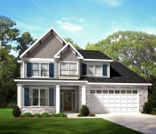 Custom Home Plan Exterior