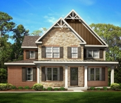 Custom Home Timber Frame Exterior Option