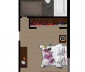 Custom Home Princess Suite Floor Plan