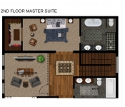 New Build Floor Plan Master Suite