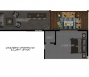 Floor Plan for 2nd Floor Master
