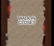Custom Home Floor Plan Walk In Closet Option