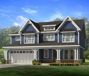 Custom Home Plan Exterior Option