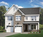 New Custom Home Builder Exterior
