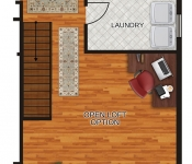 Custom Home Floor Plan Open Loft