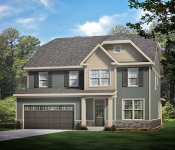 Custom Home Plan Rendering