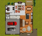 Custom Home Builder Floor Plan