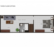 Custom Floor Plan Third Floor Option