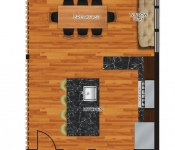 Custom Home Plan expanded first floor option