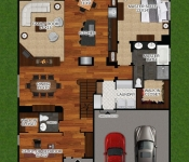 New Build Home Plan First Floor