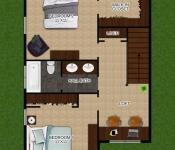 Custom Construction Home Plan 2nd Floor