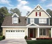 Custom Home Plan Rendering