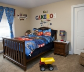 Custom Home Design Bedroom