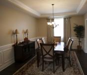 Custom Built Home Dining Room