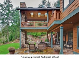 Venango Estates Vision of Potential Backyard