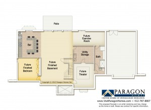 Venango Trails Basement Floorplan