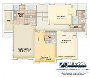 Deerfield Ridge Spec Floorplan