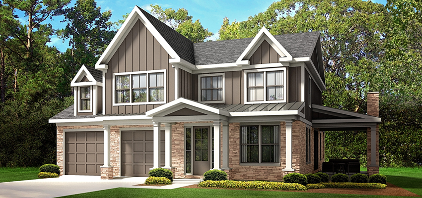 The Acadia Custom Home Plan