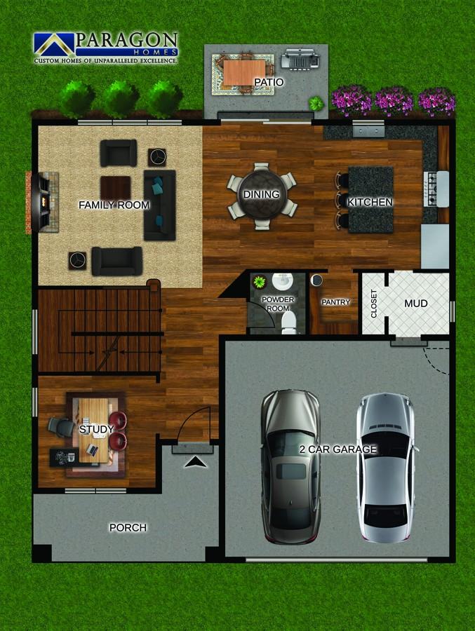 First_Floor_Custom_Home_Plan_Nantucket