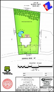 Deerfield Ridge Lot Plan