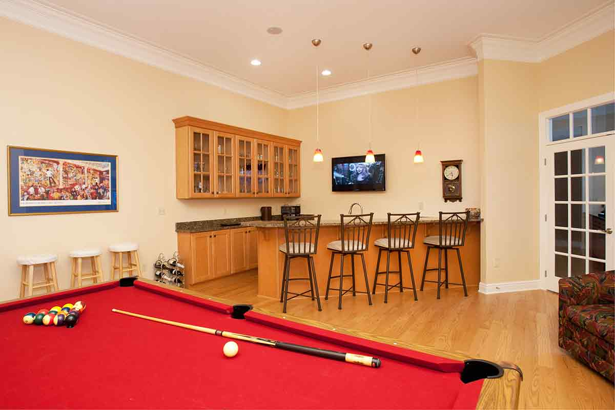 Miller custom game room